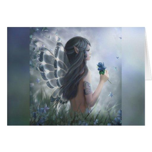 Butterfly Fairy Card