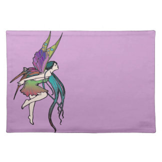 Butterfly Fairy Cloth Place Mat