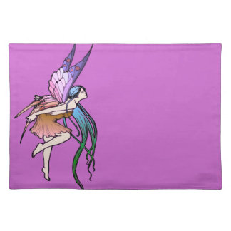 Butterfly Fairy Cloth Placemat