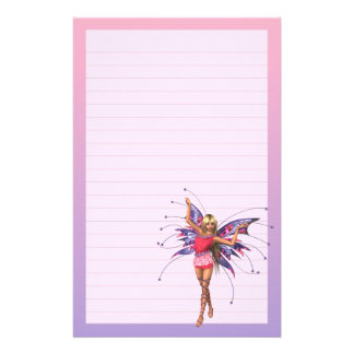 Butterfly Fairy Dancer Stationery