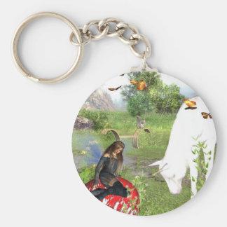 Butterfly fairy fantasy keychain