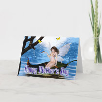 Butterfly Fairy - Fantasy Mother's Day Card