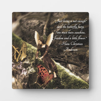 Butterfly Fairy Hans Christian Anderson Plaque
