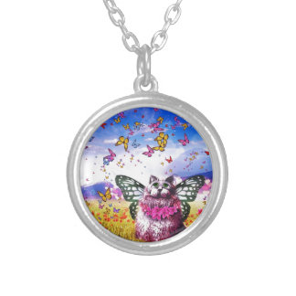 Butterfly Fairy Kat Necklaces