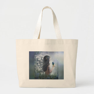 Butterfly Fairy Large Tote Bag