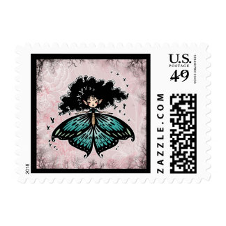 Butterfly Fairy Stamp