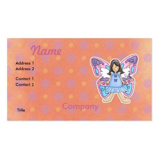 Butterfly Fairy Princess Business Card