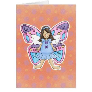 Butterfly Fairy Princess Card