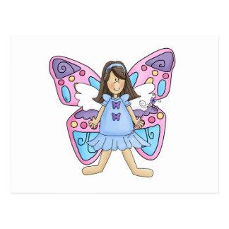 Butterfly Fairy Princess Postcard