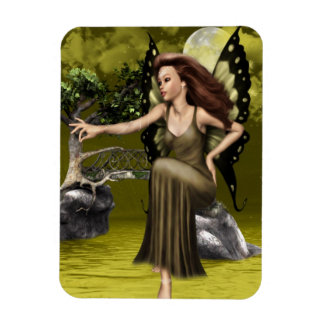 Butterfly Fairy Rectangular Photo Magnet
