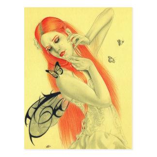 Butterfly Fairy Secrets Postcard