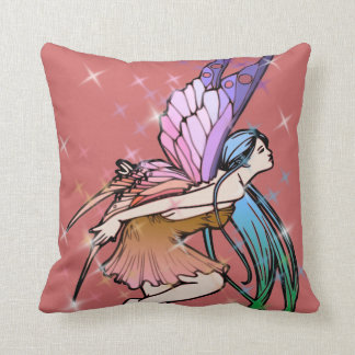 Butterfly Fairy Sparkles Pillow