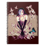 Butterfly Fairy Spiral Notebooks
