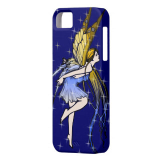 Butterfly Fairy w/Stars iPhone SE/5/5s Case