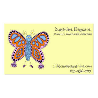 Family daycare business cards templates zazzle for Family business cards