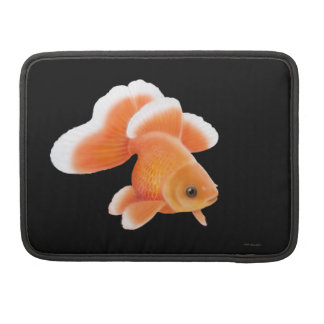 Butterfly Fantail Goldfish Macbook Flap Sleeve