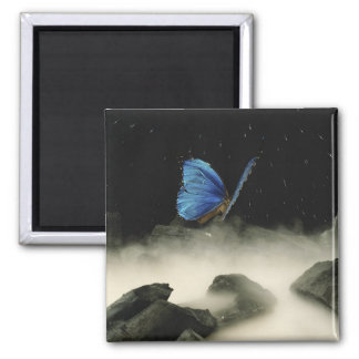 Butterfly Fantasy 2 Inch Square Magnet