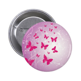 Butterfly Fantasy Button