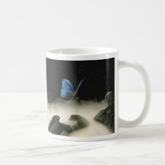 Butterfly Fantasy Classic White Coffee Mug