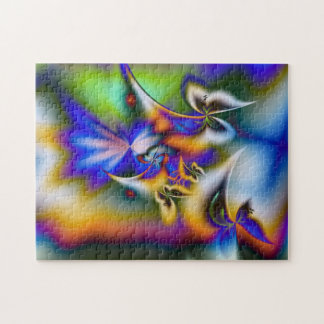 Butterfly Fantasy - Fractal Jigsaw Puzzle