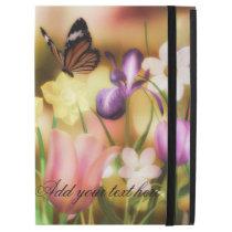 Butterfly fantasy garden iPad pro case