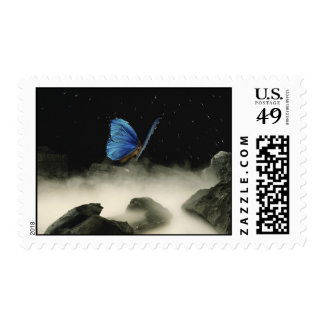 Butterfly Fantasy Stamp