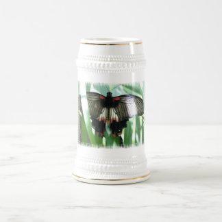 Butterfly Farm Beer Stein Coffee Mugs