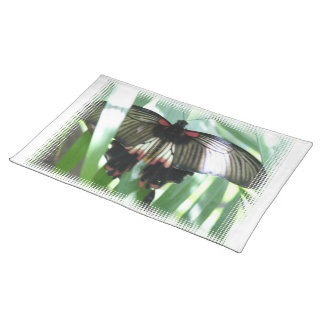Butterfly Farm Placemat Cloth Placemat