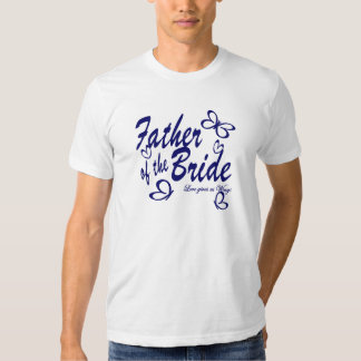 Butterfly/ Father of the Bride T Shirt