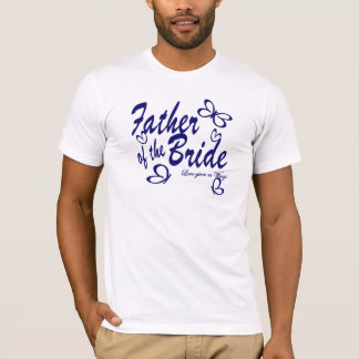 Butterfly/ Father of the Bride T-Shirt