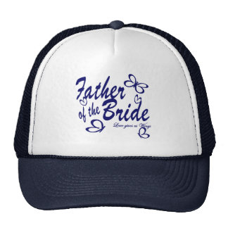 Butterfly/ Father of the Bride Trucker Hat