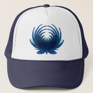 Butterfly Feathers blue Trucker Hat