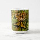 Butterfly Feeding on Flower Mug