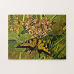 Butterfly Feeding on Flower Puzzle