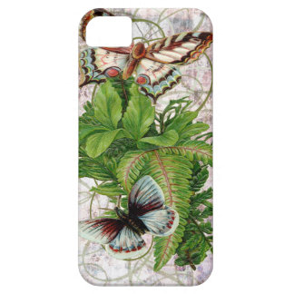 Butterfly Fern Victorian Floral iPhone SE/5/5s Case