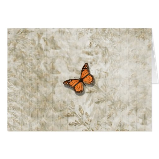 Butterfly ~ Ferns Greeting Card