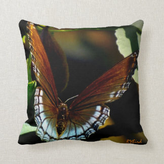 Butterfly Fig Tree Throw Pillow