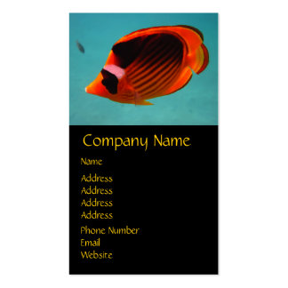Butterfly Fish Double-Sided Standard Business Cards (Pack Of 100)