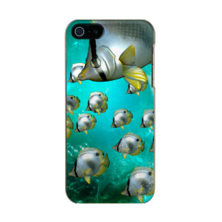 Butterfly fish metallic iPhone SE/5/5s case