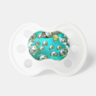 Butterfly fish pacifier