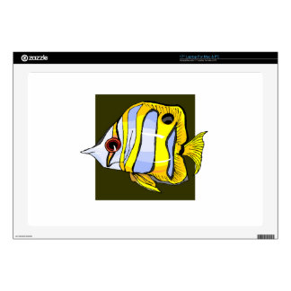Butterfly Fish Skins For Laptops