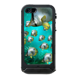 Butterfly fish waterproof case for iPhone SE/5/5s