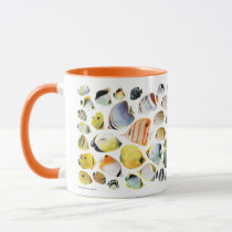 Butterfly fishes mug