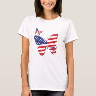 Butterfly flag T-Shirt