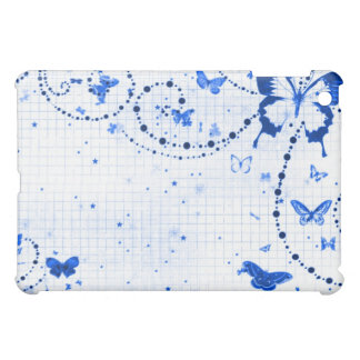 Butterfly Flash Blue Cover For The iPad Mini