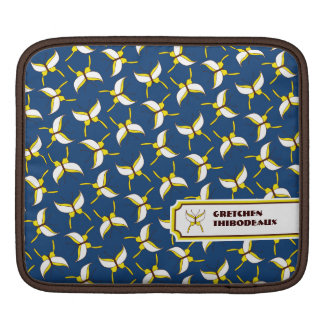Butterfly Flight iPad/ iPad 2 Sleeve - Blue