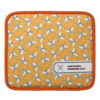 Butterfly Flight iPad/ iPad 2 Sleeve - Melon iPad Sleeve