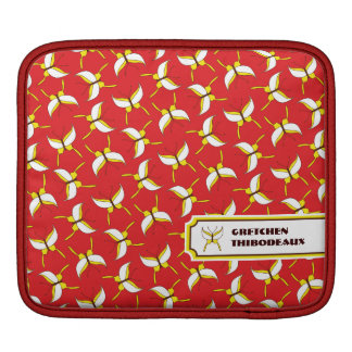 Butterfly Flight iPad/ iPad 2 Sleeve - Red