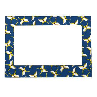 Butterfly Flight Magnetic Frame - Blue
