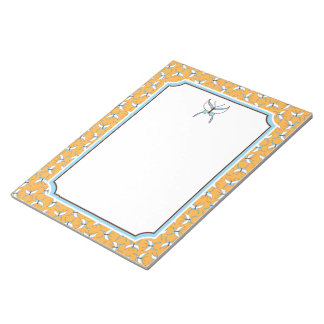 Butterfly Flight Notepad - Melon